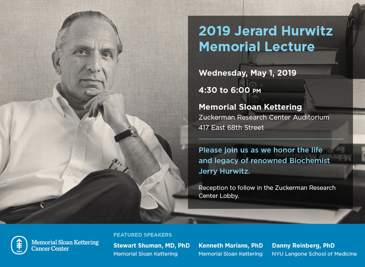 Jerard Hurwitz Memorial Lecture | Research | Weill Cornell
