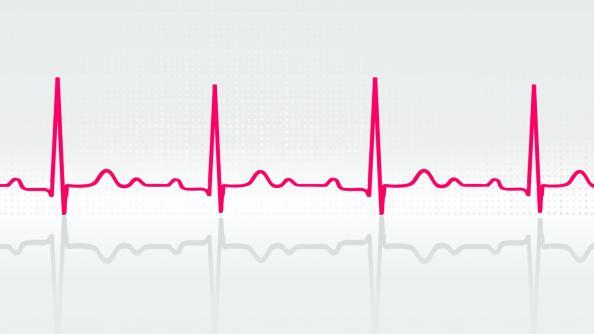 heart beat waves