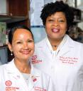 From left: Drs. Lisa Newman and Melissa Davis. Credit: John Abbott