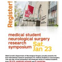 Event Image for Medical Student Neurosurgical Research Symposium